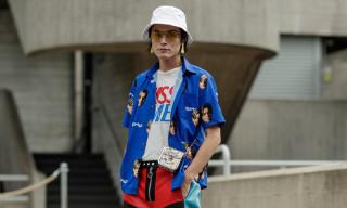 Prada, McDonalds and '90s Leo Take Over London Fashion Week