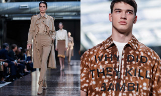 Riccardo Tisci Debuts His Collection for Burberry SS19 at LFW