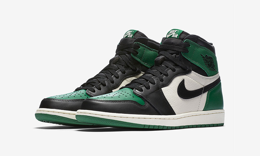 huge selection of 88ca3 67228 ... order nike air jordan 1 pine green release date price info 210eb 2a5e3