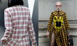Plaid Prints Reign Supreme at London Fashion Week
