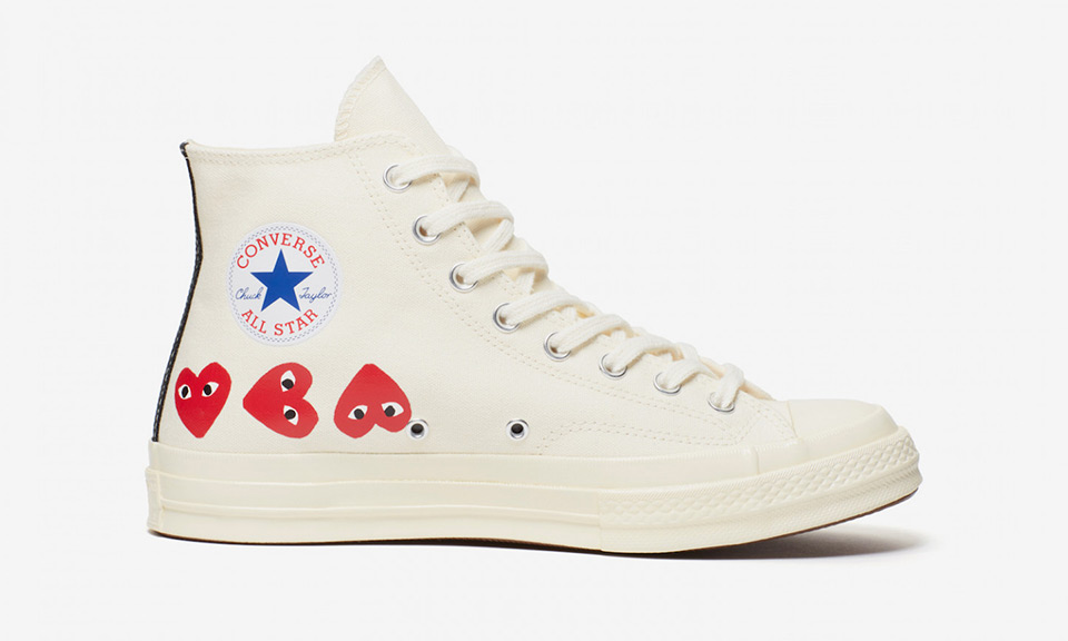 "You Can Still Cop COMME des GARÇONS PLAY   Converse s ""Multi Heart"" Chuck  Taylor All Star aa981c2a6aced"