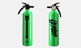 10.Deep's Neon Green Fire Extinguisher Is Life-Saving Heat
