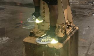 Kanye West Teases Long-Rumored adidas YEEZY Basketball Sneaker