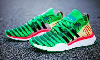 """A First Look at adidas' 'Dragon Ball Z' EQT Support ADV Primeknit """"Shenron"""""""