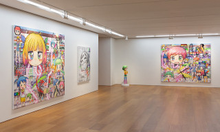 Take a Look Inside Mr.'s Solo Exhibition in Galerie Perrotin, Hong Kong