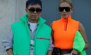 There's Neon and Nylon for Days at Prada's SS19 Show