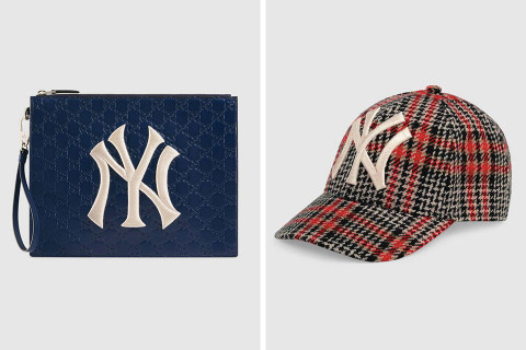 Where to Shop the Latest Pieces from Gucci s NY Yankees Collection de136cd57e2