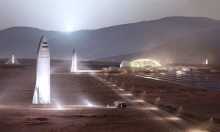 Elon Musk Says Mars SpaceX Base Could Be Possible by 2028