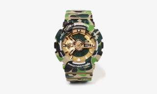 BAPE & G-SHOCK Join Forces for Attention-Grabbing Camo Timepiece
