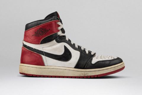 "buy popular 48d5a afb76 Nike Air Jordan 1 White Black Red (""Black Toe"")"