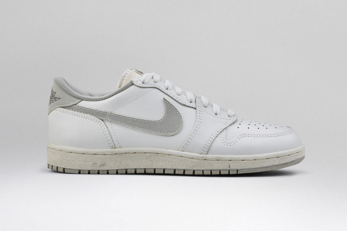 best service 06302 53f29 After fracturing a bone in his foot in the 1985-86 season, Nike and Jordan  built an Air Jordan 1 with support straps on the lateral side of the shoe  to ...