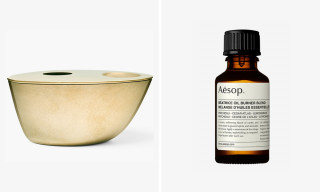 Aēsop Just Dropped a Brass Oil Burner, the First Object From Its New Home Range
