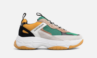 Calvin Klein's Chunky Sneaker Releases in Triple S-Inspired Colorway