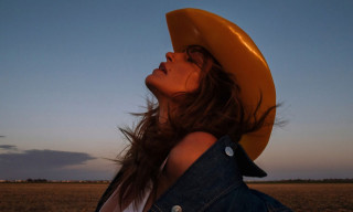 Cindy Crawford Heads to the Cadillac Ranch for Acne Studios' Fall Campaign