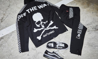 This Checkerboard Vans x mastermind JAPAN Tracksuit Is Fire