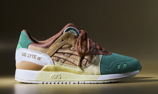 24 Kilates & ASICSTIGER Debut Luxe GEL-LYTE III Collab