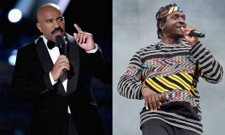 Steve Harvey Disses Pusha-T in 'Family Feud' Freestyle