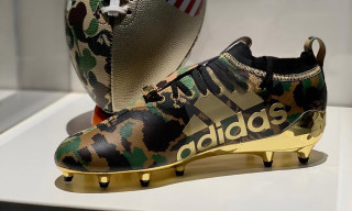 An Official Look at the BAPE x adidas Football Collection