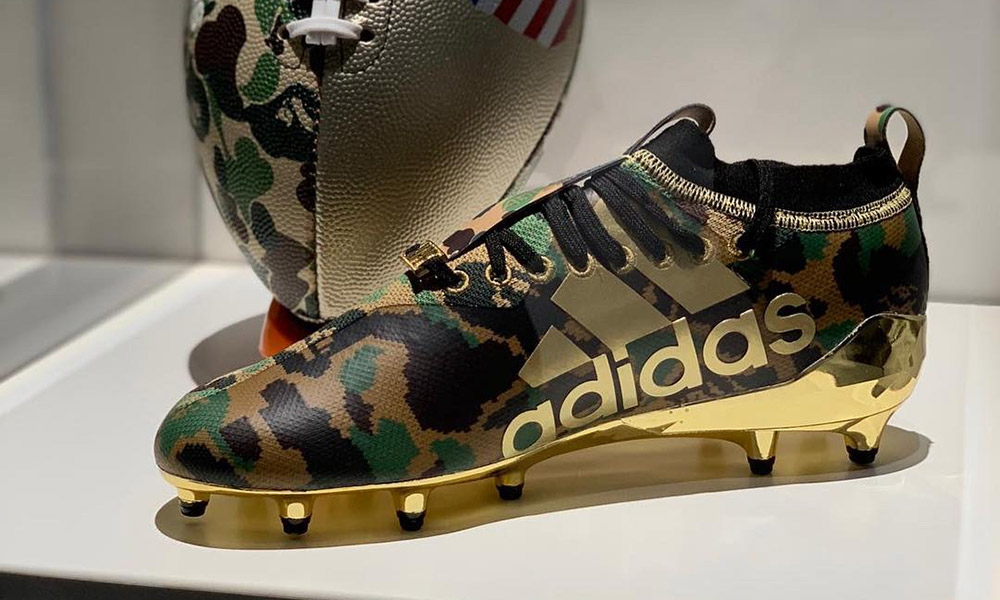 61deed3c05f6 BAPE x adidas  An Official Look at Their Football Collection