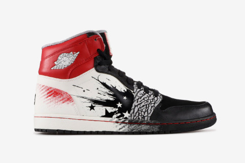 """648a63ee738d Dave White x Nike Air Jordan 1 """"WINGS for the Future"""""""
