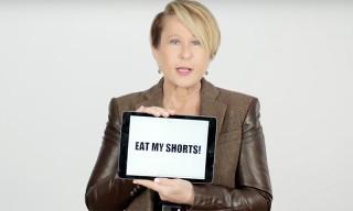 Yeardley Smith aka Lisa Simpson Teaches You 'Simpsons' Slang