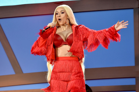 Cardi B questioned by police over strip club fight