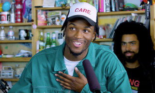 Watch Saba's Captivating Tiny Desk Concert Performance