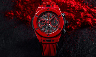 Hublot Has Made the World's First Vibrantly Colored Ceramic Watch