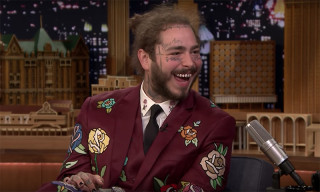 Watch Post Malone Debut His New Song on 'Fallon'