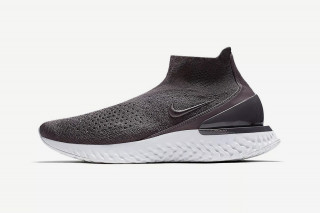"""Nike s Rise React Flyknit Surfaces in New """"Thunder Grey"""" Colorway 50b9ae30a"""