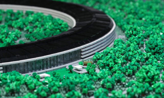 This Almost Perfect 19-Foot LEGO Apple Park Model Includes 1,647 Trees