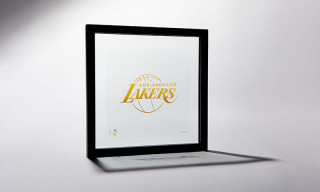 These Gold Foil NBA Team Logo Prints Are the Perfect Gift for Hoops Fans