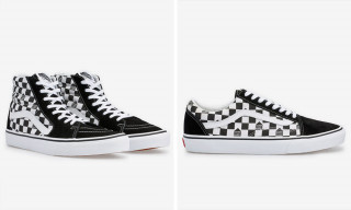 These Dover Street Market x Vans Kicks Feature a Special-Edition Checkerboard Pattern