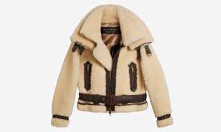 This Cozy Burberry Shearling Jacket Will Set You Back Some $5,000
