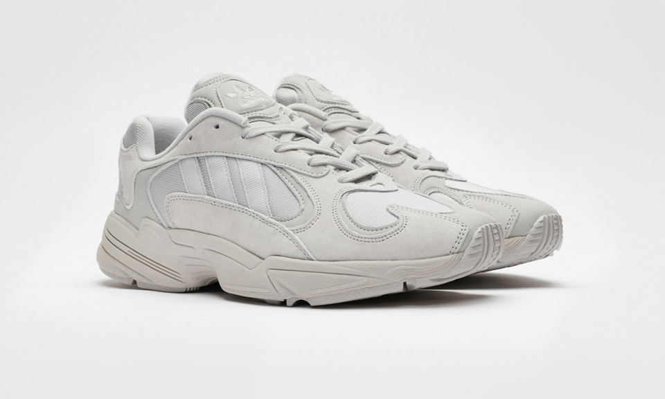 """new product 2298a 265d9 Here s How to Cop Sneakersnstuff s adidas Originals Yung-1 in """"Grey""""    """"Unity Purple"""""""