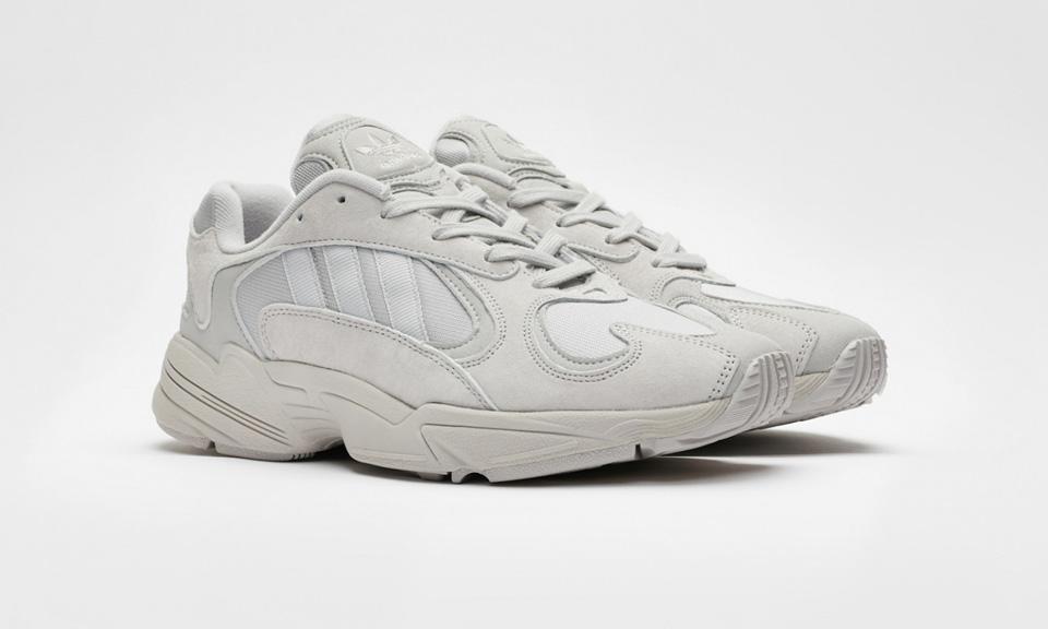 """Here s How to Cop Sneakersnstuff s adidas Originals Yung-1 in """"Grey""""    """"Unity Purple"""" 08475918c"""