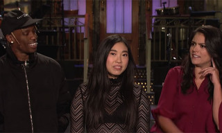 Watch Travis Scott Adlib over Cecily Strong's Freestyle in 'SNL' Promo Video