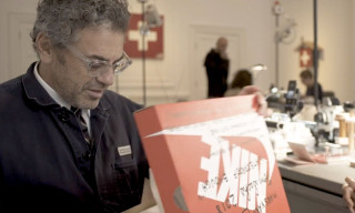 EXCLUSIVE: Tom Sachs Unboxes His NikeCraft Mars Yard Overshoe For the First Time