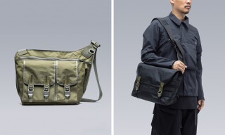 "ACRONYM Re-Ups Its Tech-Ninja ""3A"" Line of Messenger Bags"
