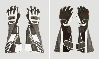 Feast Your Eyes on These $1,450 Reclaimed Leather Biker Gloves by GmbH
