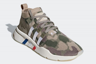 "1e409b6dbe1 adidas s EQT Support Mid ADV Gets New ""Camo"" Colorway"