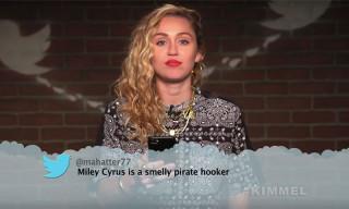 Watch Miley Cyrus, ScHoolboy Q & More Musicians Read Mean Tweets