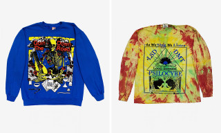 Online Ceramics Drops Psychedelic Graphic Tees for Fall