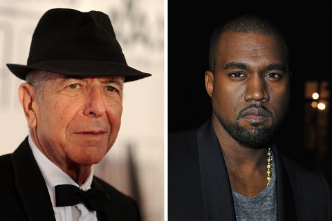 Leonard Cohen wrote a poem titled 'Kanye West Is Not Picasso'