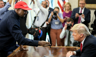 "Kanye West Says Trump's MAGA Hat Makes Him Feel Like ""Superman"""