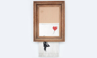 Banksy's Shredded Art Piece Is the World's First Created During Live Auction