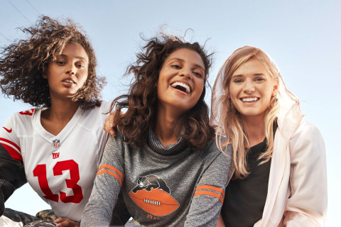 Nike is honoring NFL s female fans with a Football Jersey Line e53d629071