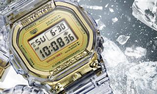"""G-SHOCK Unveils a Transparent """"Glacier Gold"""" DW-5035E"""