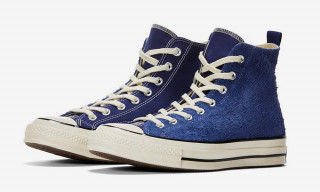 MADNESS and Converse Cover the Chuck 70 High in Hairy Suede and Canvas