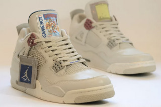 Level Up in These Game Boy-Themed Air Jordan IVs